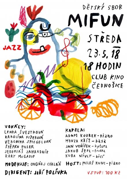 Koncert na festivalu Jazz Černošice 2018